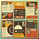 Restaurant Menu Designs - GraphicRiver Item for Sale