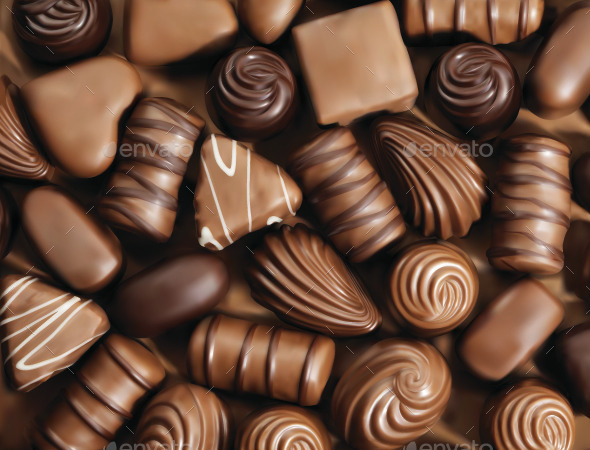 GraphicRiver Chocolate Sweets 8794331