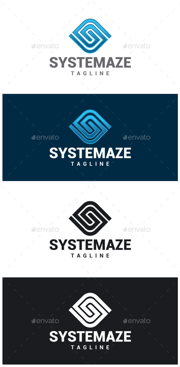 GraphicRiver Systemaze S Letter Logo 8794390