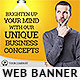 Corporate Web Banner Design Template 52 - GraphicRiver Item for Sale