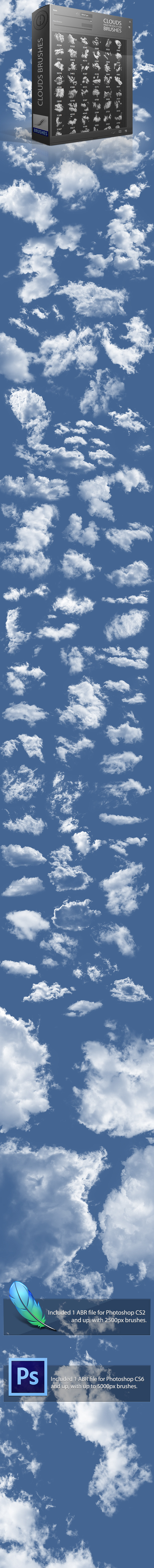 Clouds Brushes 2,0 - Brushes Photoshop