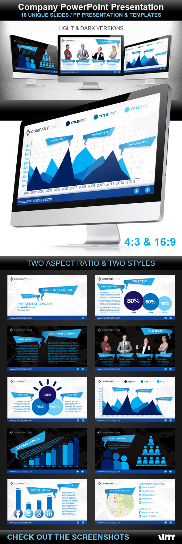 Company Powerpoint Presentation - PowerPoint Templates Presentation Templates