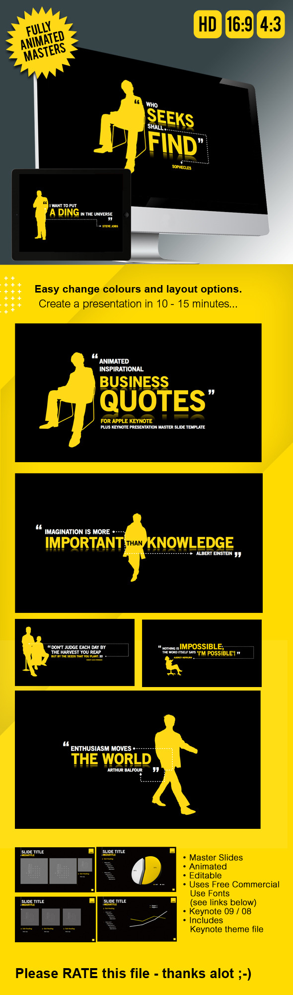 Keynote Presentation Business Animation