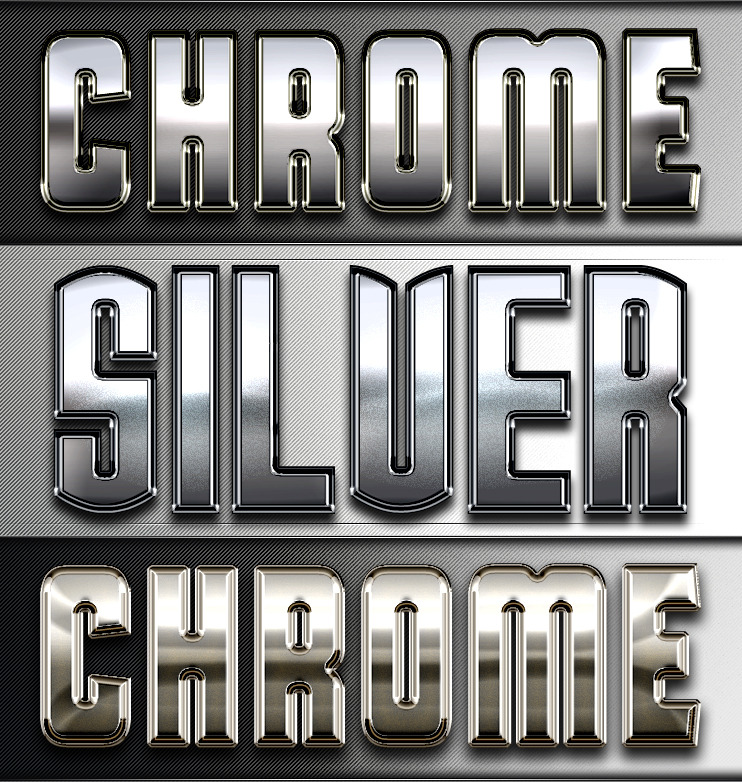 Chrome & Silver Series III - Professional Styles