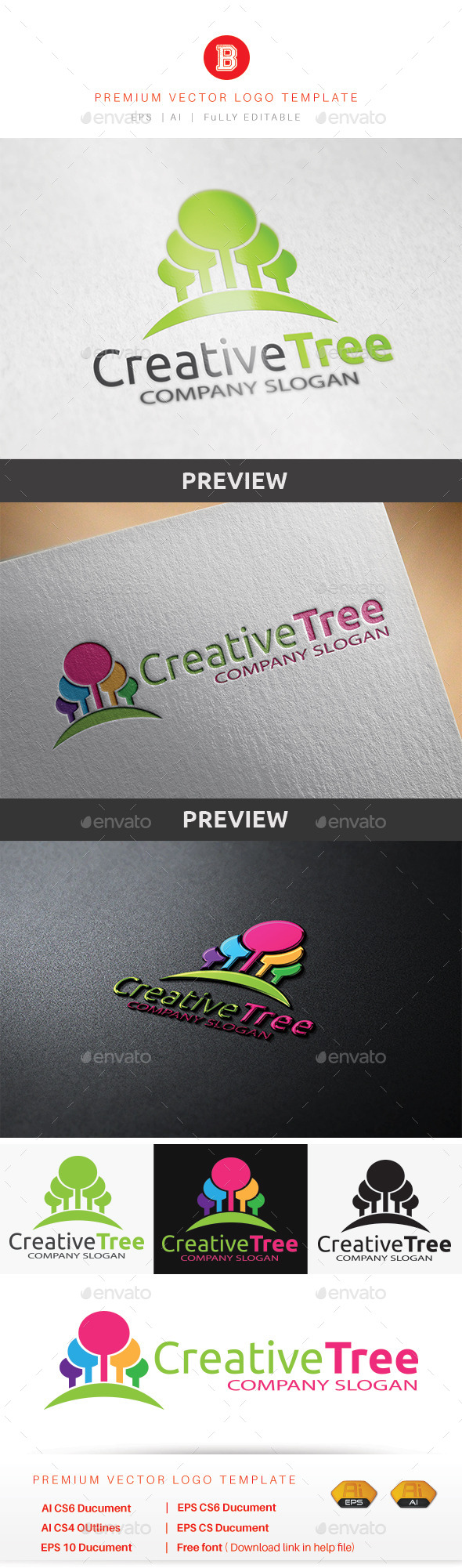 GraphicRiver Creative Tree 8794921
