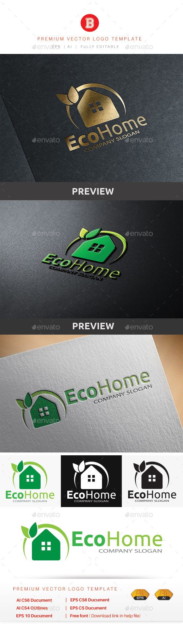 GraphicRiver Eco Home 8794928