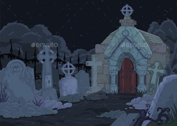GraphicRiver Cemetery 8795783