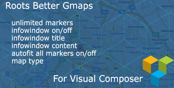 CodeCanyon Better Maps for Visual Composer 8795896