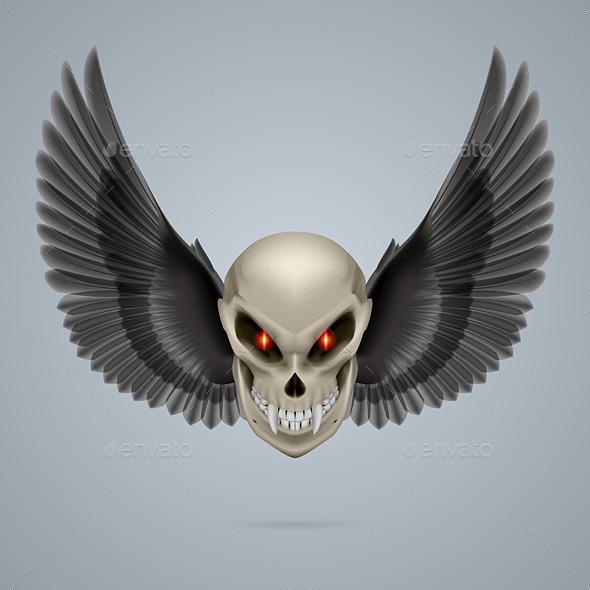 GraphicRiver Mutant Skull 8795989
