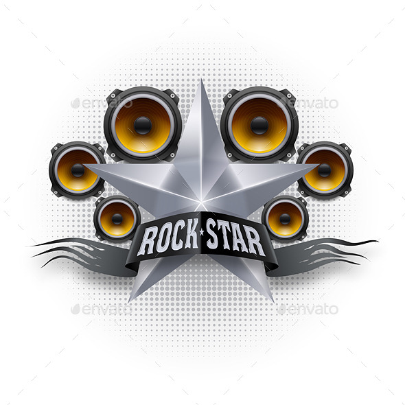 GraphicRiver Rock Star 8796001