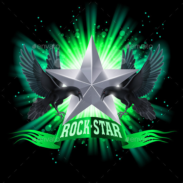 GraphicRiver Rock Star 8796004