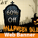Halloween Web Banner - GraphicRiver Item for Sale