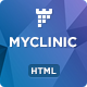 MyClinic - Medical HTML Landing Page - ThemeForest Item for Sale