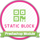 Static block creater Prestashop module