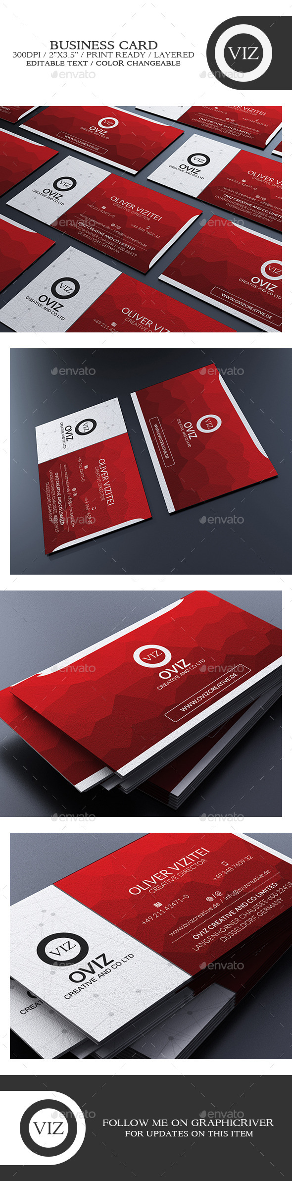GraphicRiver Corporate Business Card 8796243