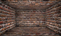 Stone Brick Room Urban Interior Stage - PhotoDune Item for Sale