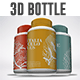 3D Vitamin and Pill Bottle Moc-kups - GraphicRiver Item for Sale