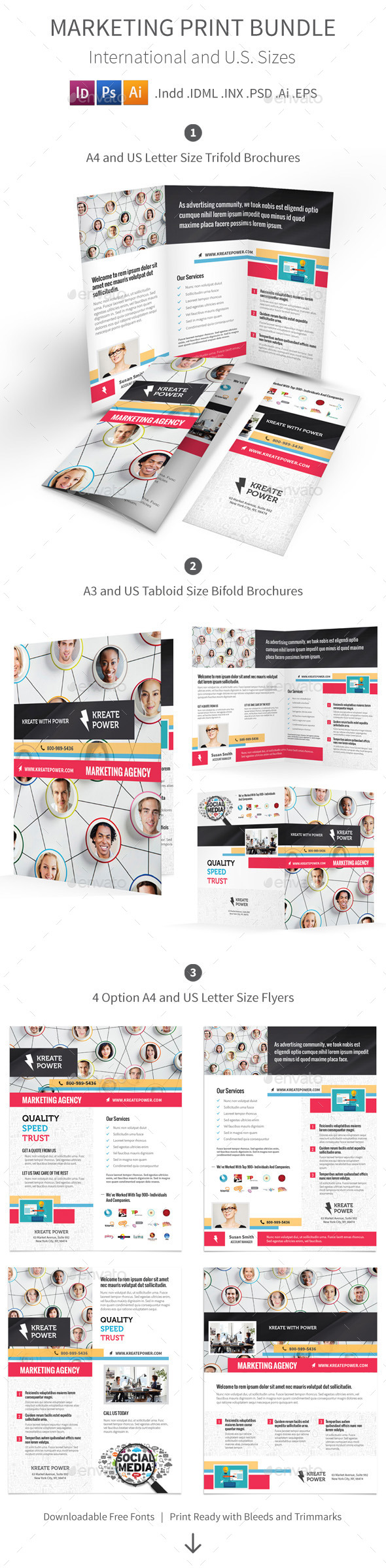 GraphicRiver Marketing and Advertising Print Bundle 8796770