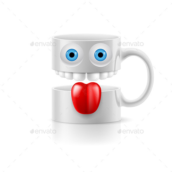 GraphicRiver Mug with Face 8796934