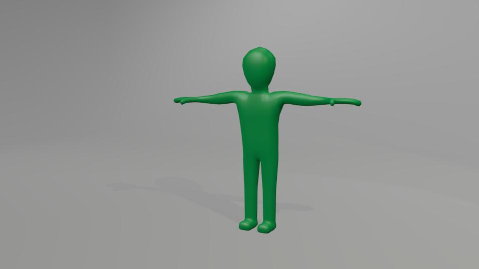 3DOcean Blender rigged figure 895403