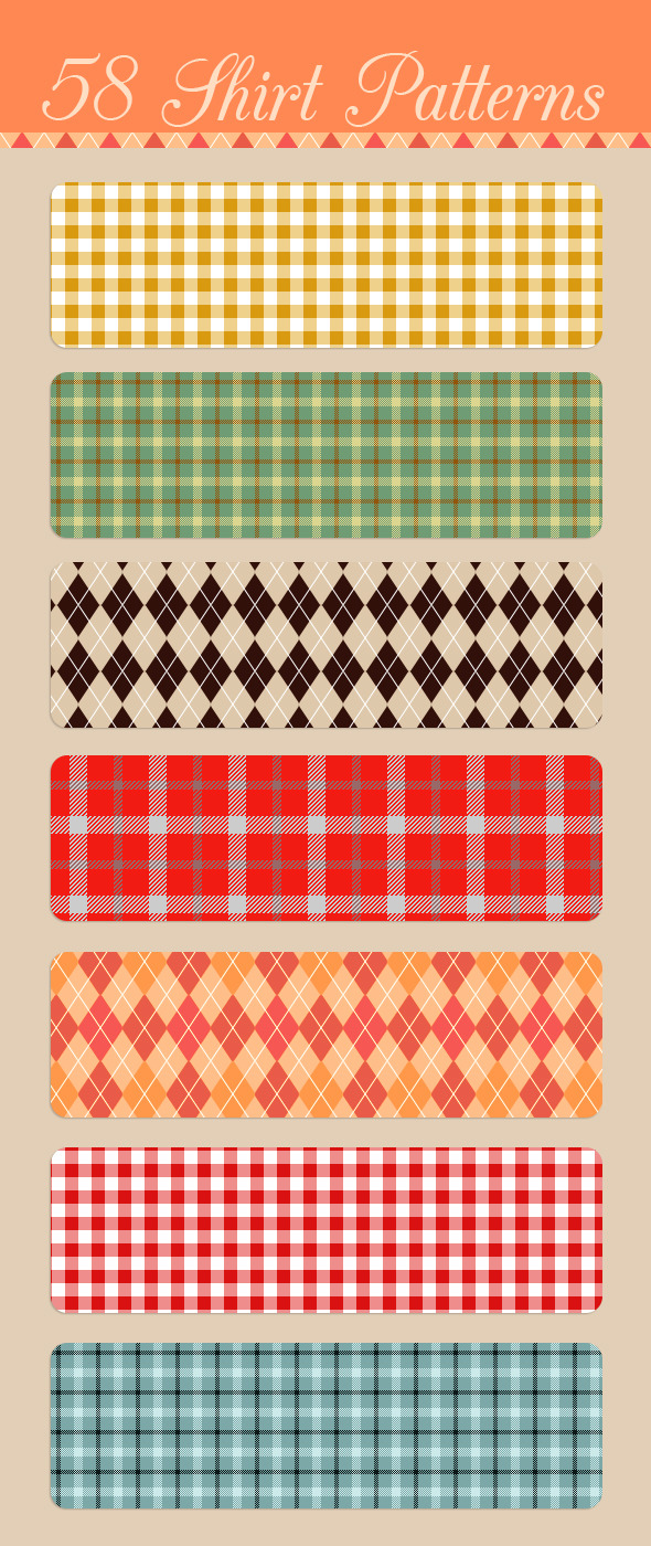 Seamless Shirt Patterns