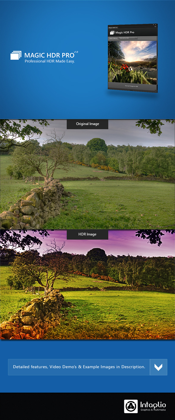 Magic HDR Pro - Actions Photoshop