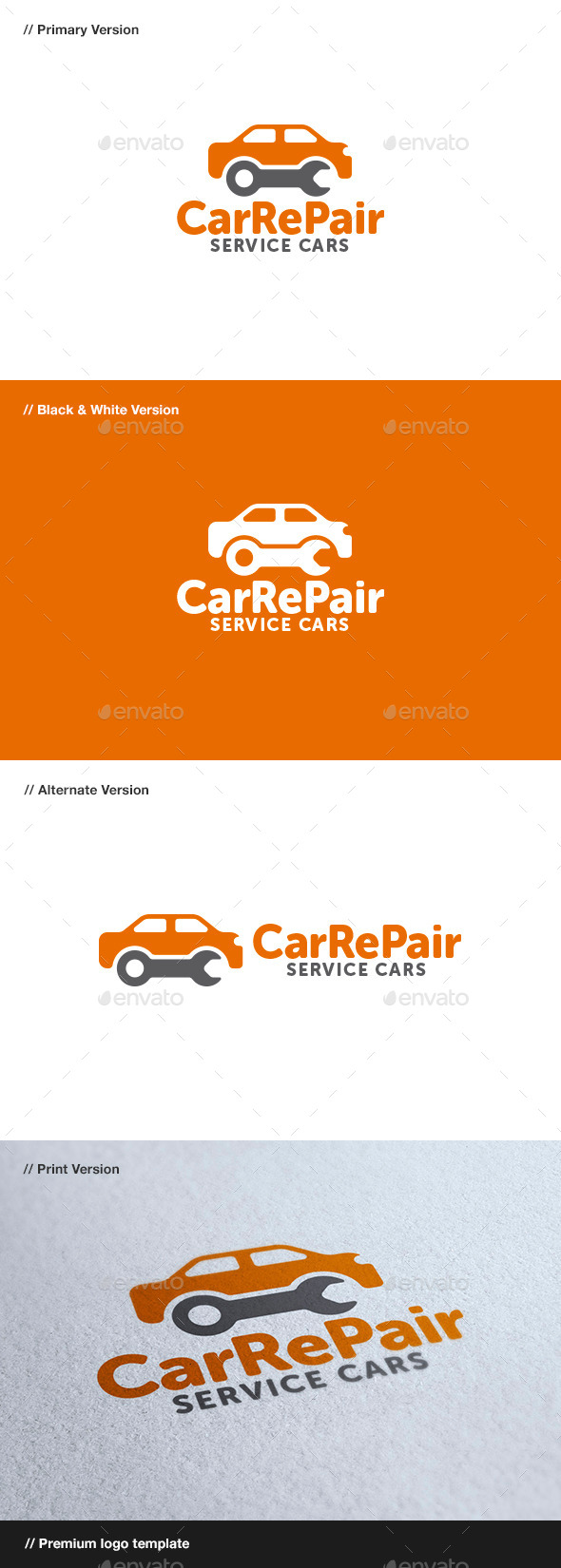 GraphicRiver Car Repair 8798039