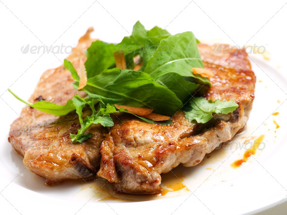Pork cutlet - Stock Photo - Images