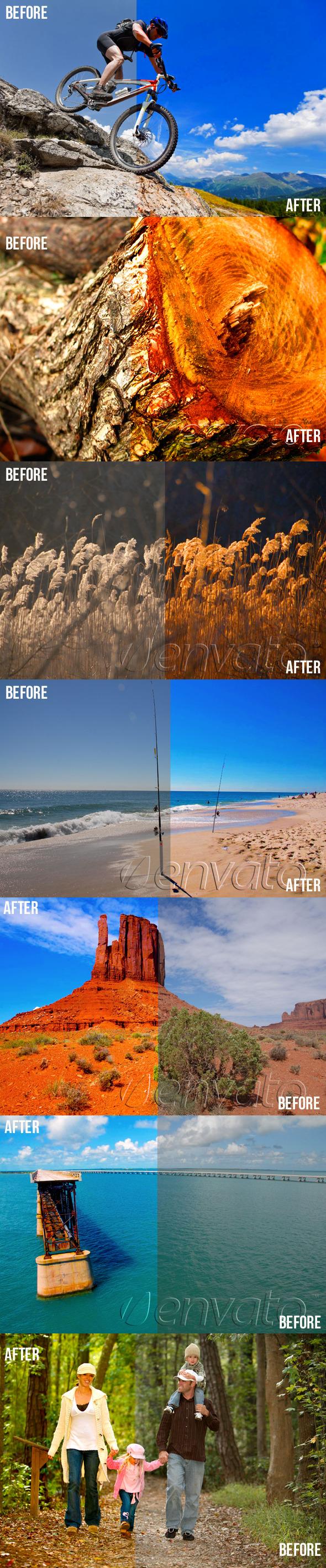 Photoshop Color Enhance Actions