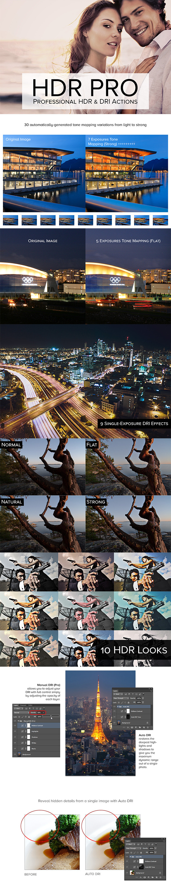 HDR Pro - Photo Effects Actions