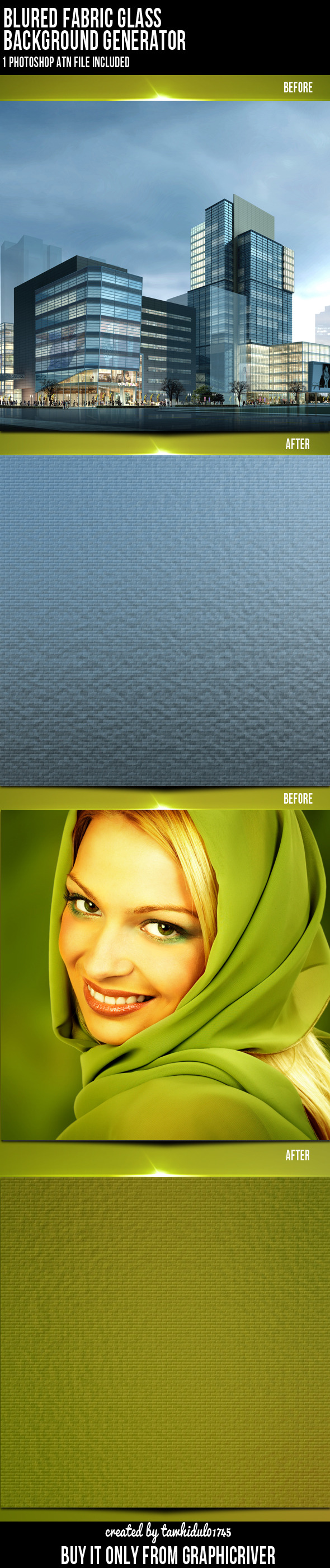 Background Generator Photoshop Action - Actions Photoshop