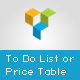 Visual Composer Add-on - To Do List or Price Table - CodeCanyon Item for Sale