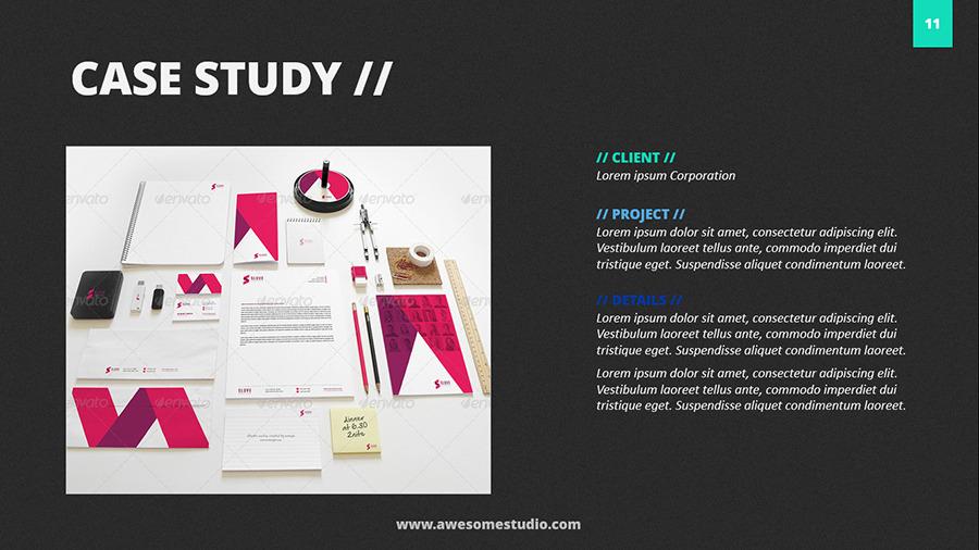case study presentation format