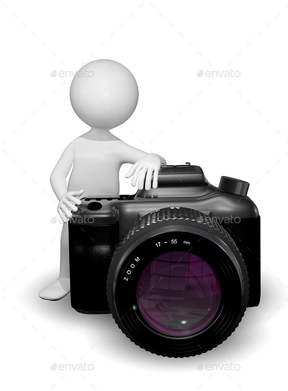 GraphicRiver Man with a Camera 8798231