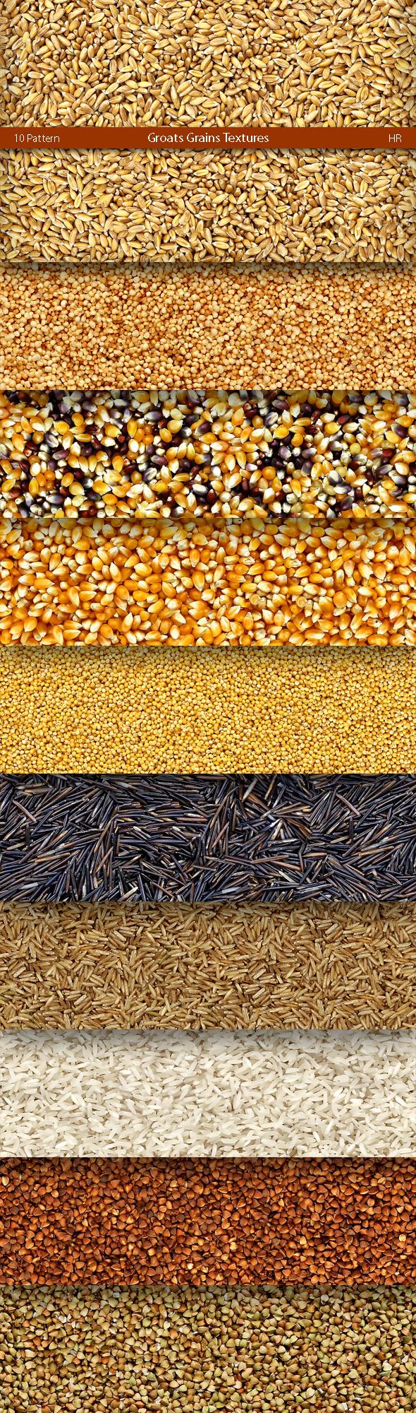 Groats Grains Patterns