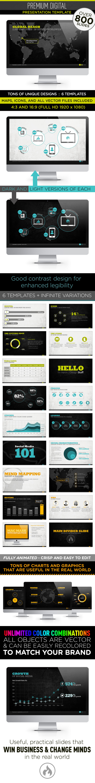 Premium Digital Presentaton Template - PowerPoint Templates Presentation Templates
