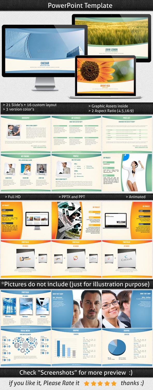 Multipurpose Powerpoint Template - Presentation Templates