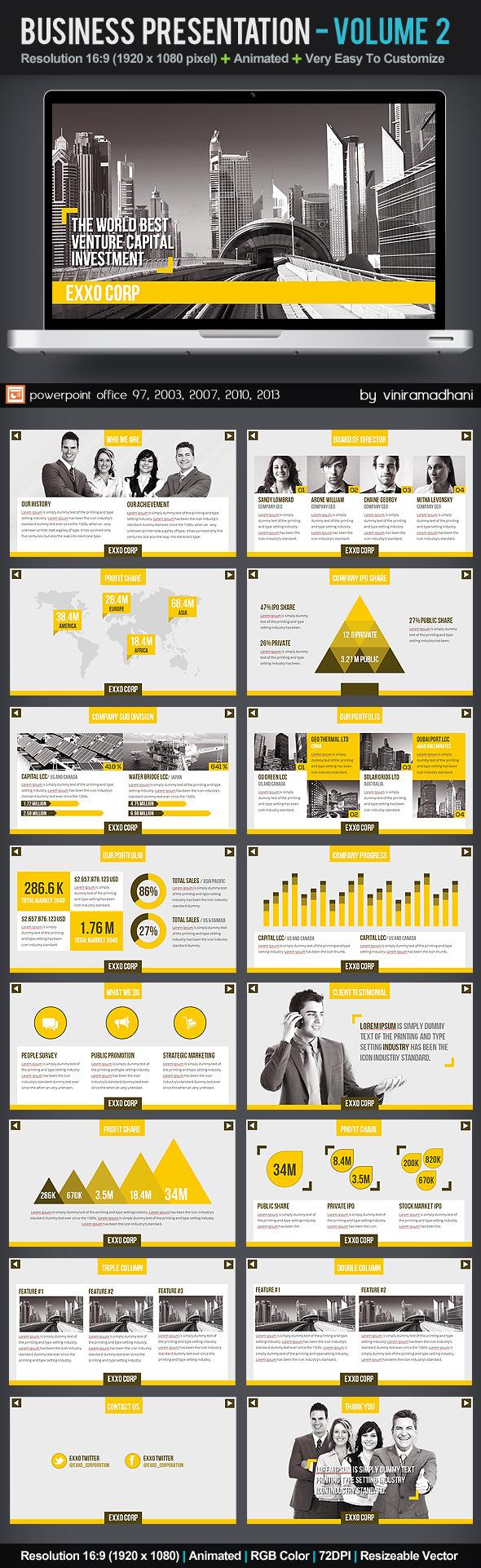 Business Presentation | Volume 2