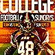 College Football Flyer  - GraphicRiver Item for Sale