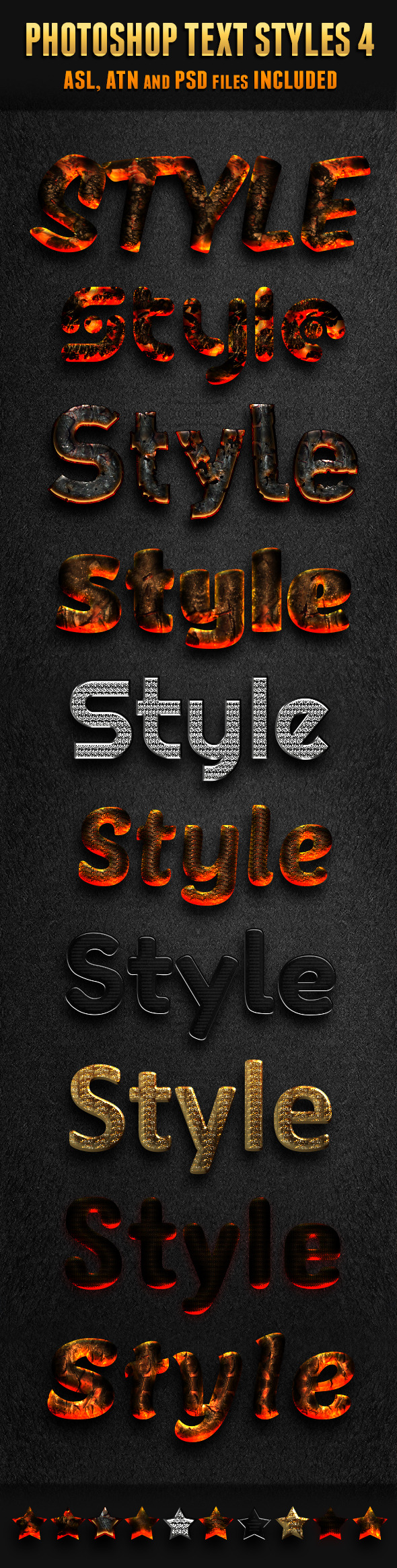 Photoshop Text Styles 4