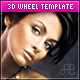 3D Wheel XML Template w/ flickr & YouTube Support