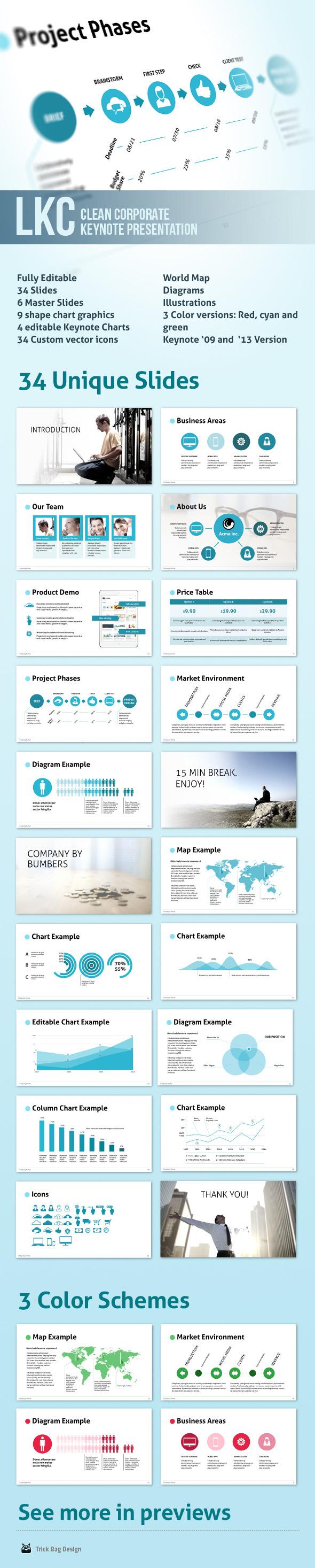 LKC - Clean Corporate Keynote Presentation