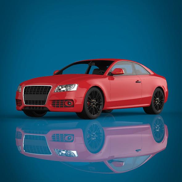 Sport Car - 3DOcean Item for Sale