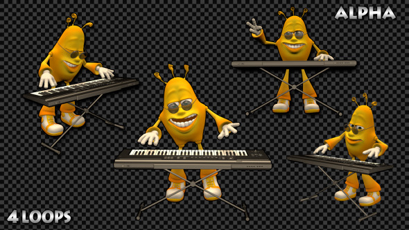 Music 3D Man Piano Pack
