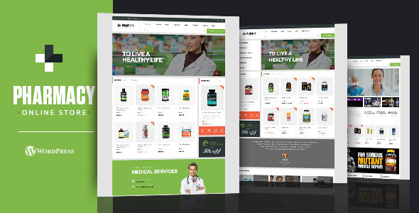 ThemeForest Pharmacy WooCommerce WordPress Responsive Theme 8799461