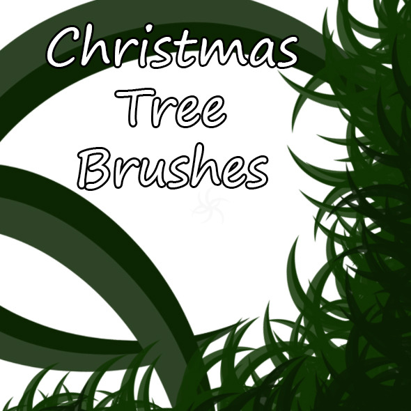 Christmas Tree Brush