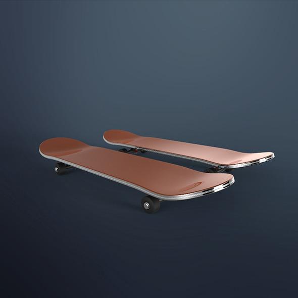 3DOcean Skateboard 8799476