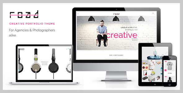 ThemeForest Road Agency Photography Portfolio Theme 8779919