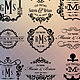 Wedding Monogram Labels - GraphicRiver Item for Sale