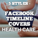 Facebook Timeline Covers Health Care - GraphicRiver Item for Sale